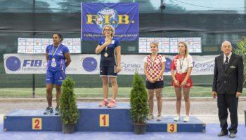 Europsko prvenstvo za seniorke, Saluzzo
