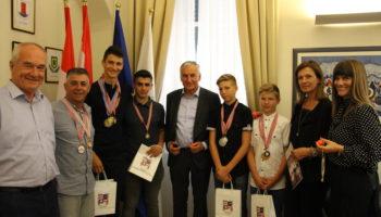 Juniori BS DNŽ kod gradonačelnika Dubrovnika i župana D-N županije