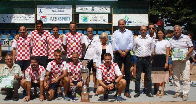 Hrvatski boćarski savez: Hrvatska najbolja na Petoboju nacija «A.Anzur – A.Lagier Bruno«