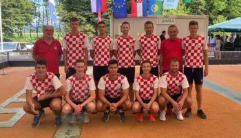 Prijateljski susret Hrvatska-Slovenija, mladi